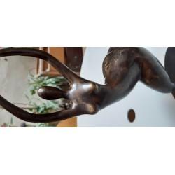 Sculpture, danseuse - Bronze
