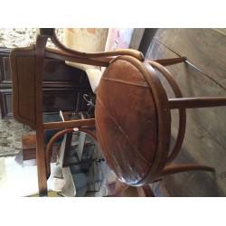 Ancien fauteuil de bureau bois KHON